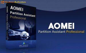 AOMEI Partition Assistant 9.1 Crack 2021